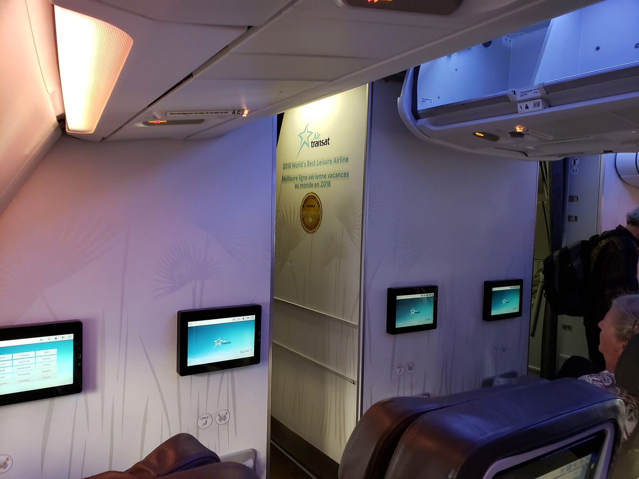 Review Of Air Transat Flight From Montego Bay To Toronto In Business