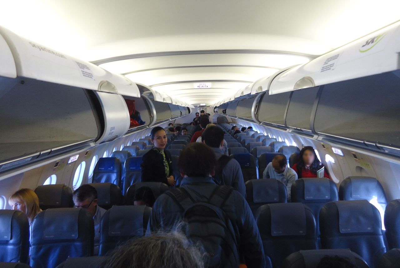Review of Sky Airline flight from Santiago to Temuco in Economy