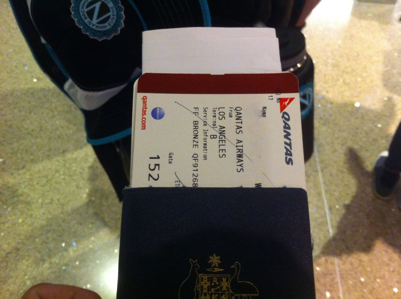 Review of Qantas flight from Los Angeles to Melbourne in Economy