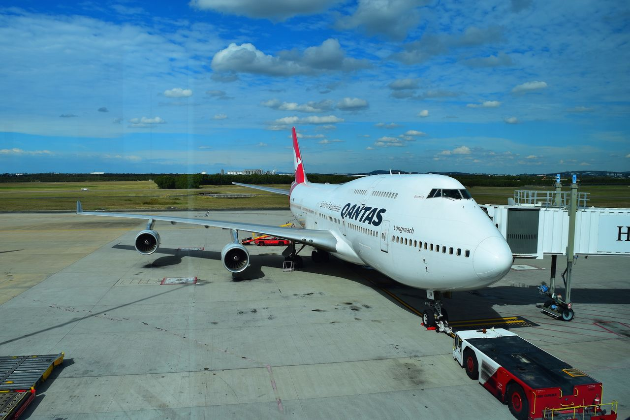Review of Qantas flight from Brisbane to Los Angeles in Economy