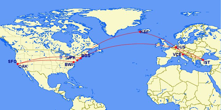 Review of Icelandair flight from Boston to Reykjavík in Economy on airports map, airlines map, interjet route map, internet traffic map, transit world map, air service map, rail map, aeroflot route map, shipping map, china route map, afghanistan map, airasia route map, asia map, egyptair route map, westjet route map, cathay pacific route map, roads map, air products map, air route to europe, adoption map,