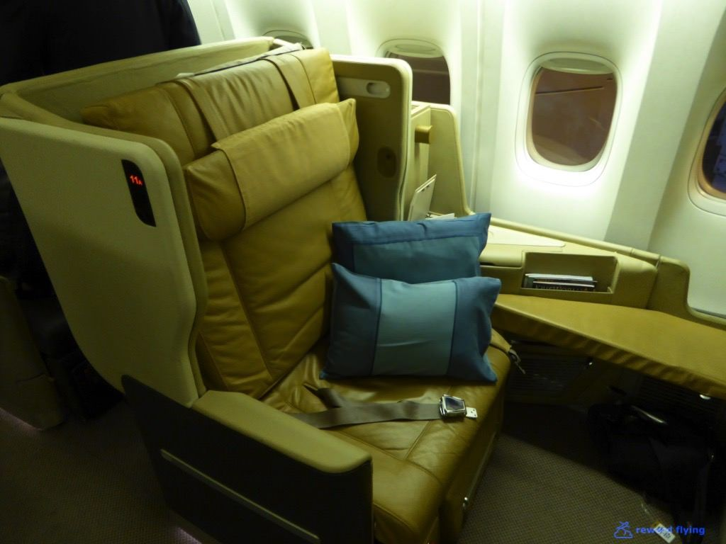 Review of Singapore Airlines flight from Singapore to Melbourne in ...