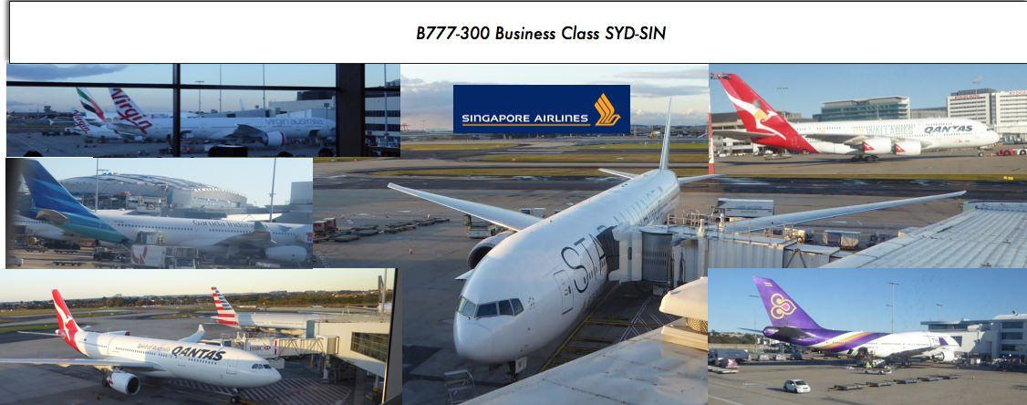 Review of Singapore Airlines flight from Sydney to Singapore ...