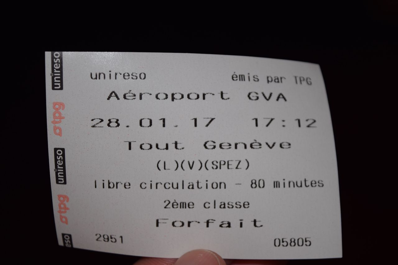 Review of SWISS flight from London to Geneva in Economy