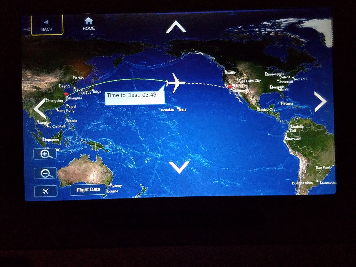 Review of Delta Air Lines flight from Shanghai to Los
