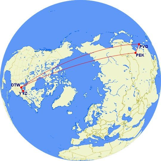 Review of Delta (Endeavor Air) flight from Toronto to ...