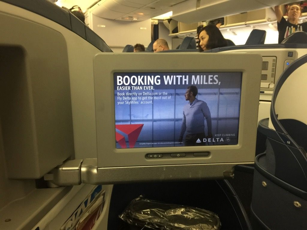 Review of Delta Air Lines flight from Tokyo to Minneapolis