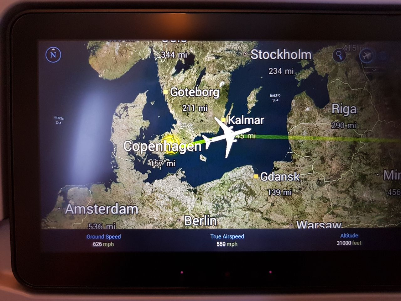 Review of Singapore Airlines flight from Copenhagen to ...
