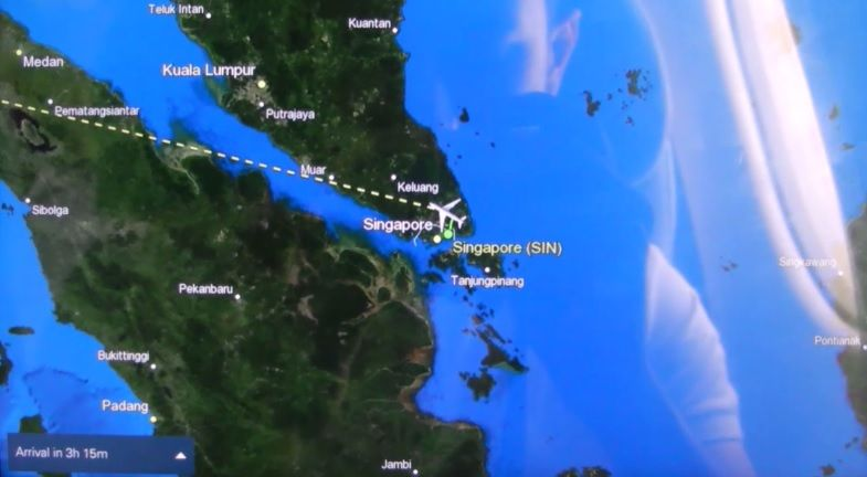 Review of SriLankan Airlines flight from Singapore to Colombo in Economy