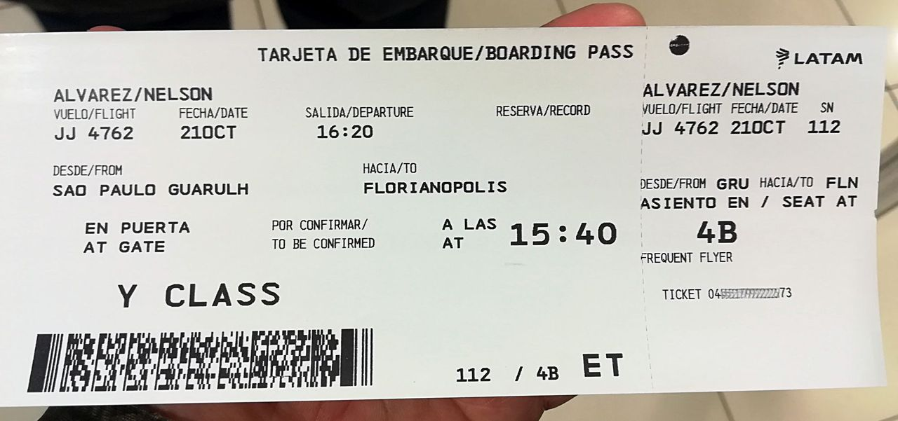 Review Of Latam Flight From Santiago To Sao Paulo In Economy