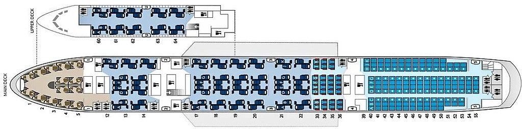 Ba 747 Seat Map Review of British Airways flight from Washington to London in Business