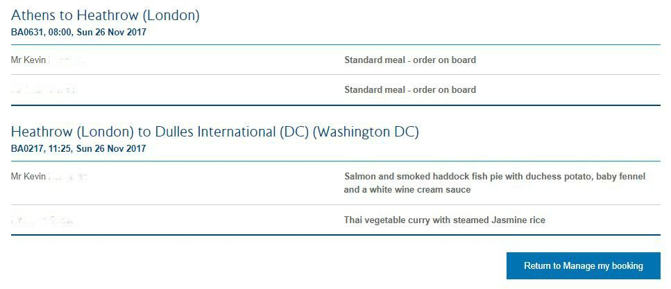 photo ba meal selection lhr-iad