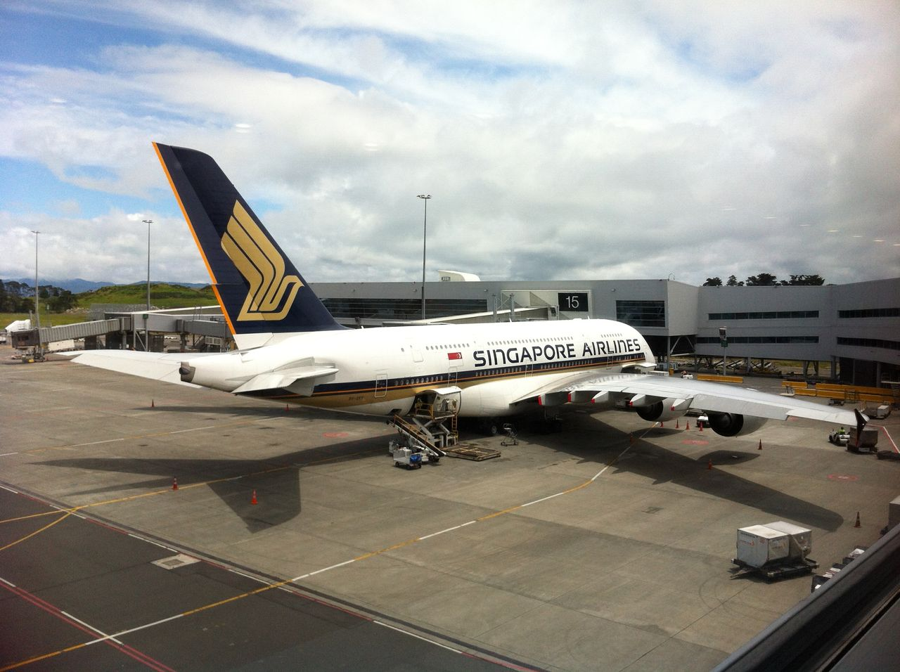 Review of Singapore Airlines flight from Auckland to Singapore in ...