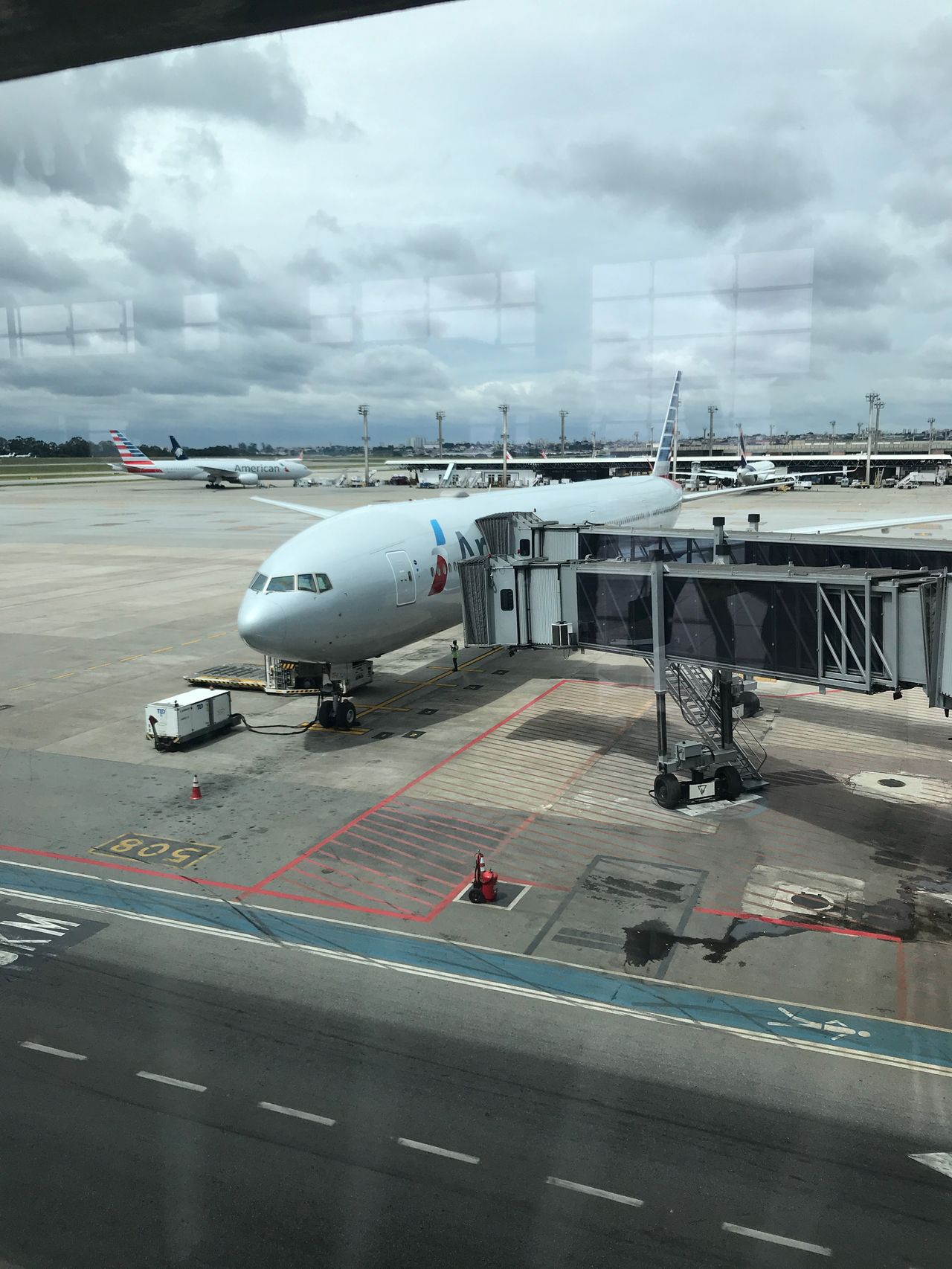 Review of American Airlines flight from Sao Paulo to Miami in Business