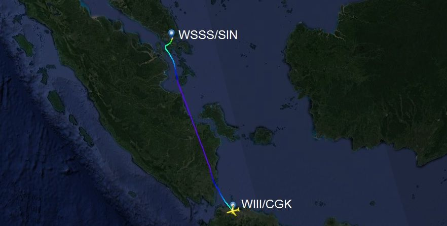 Review of Singapore Airlines flight from Jakarta to ...