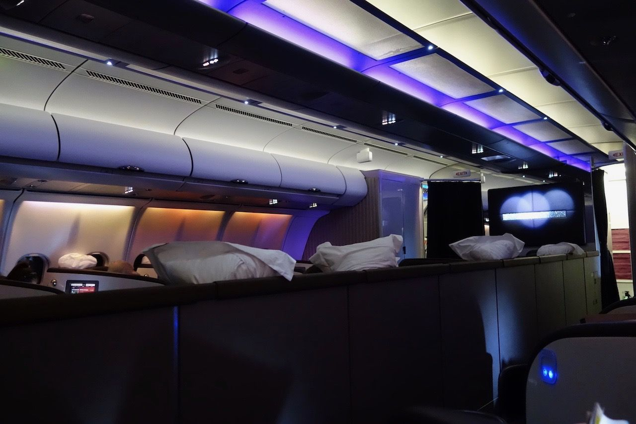 Review of Virgin Atlantic flight from New York to London in