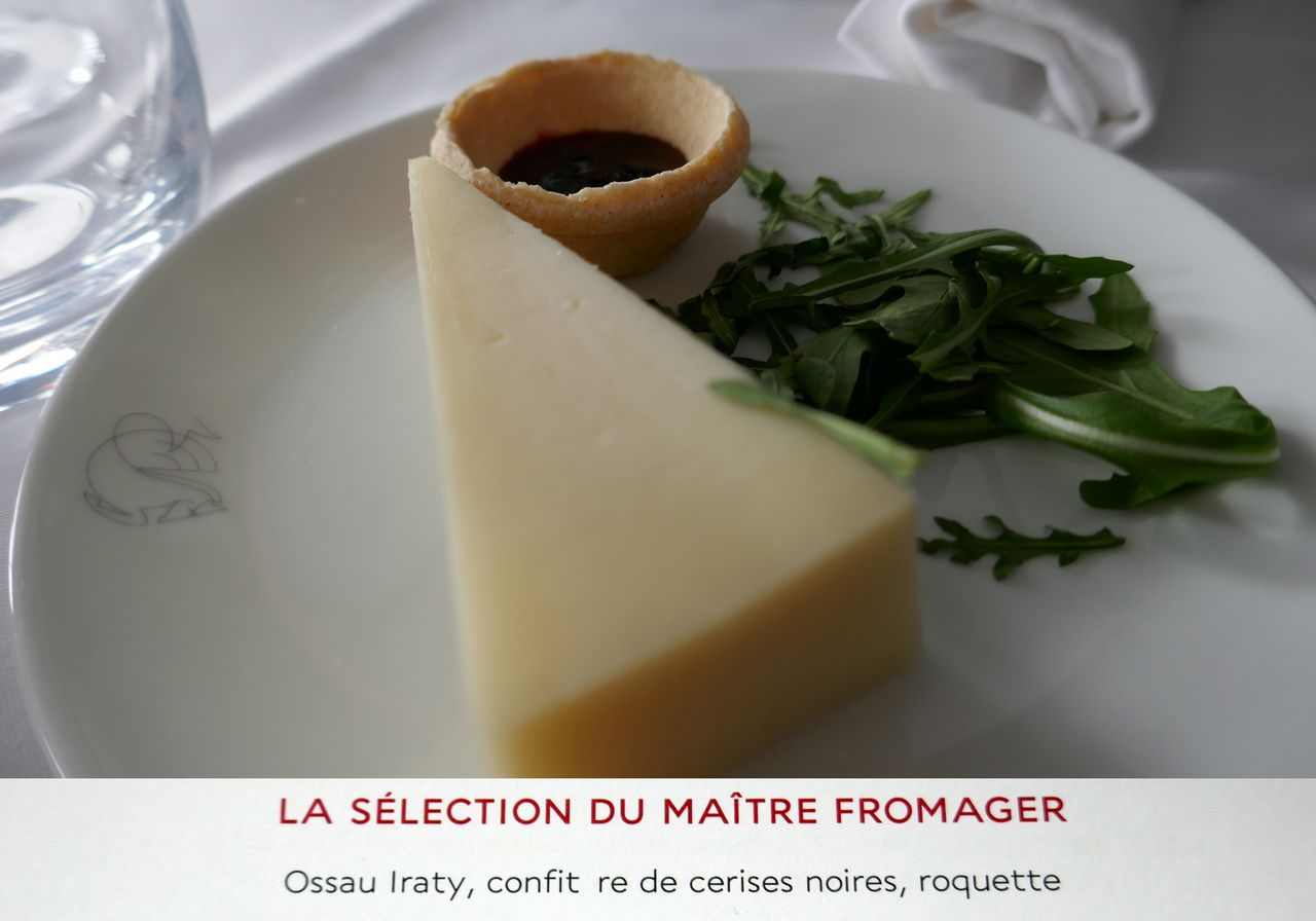 photo fr189 cdg sfo premiere af 161 repas fromage