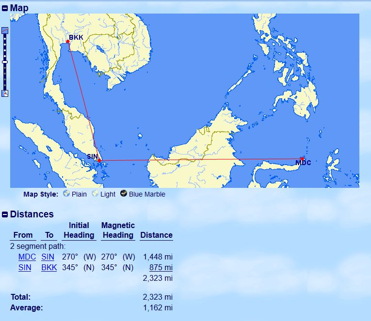 Review of Singapore Airlines flight from Singapore to Bangkok in ...