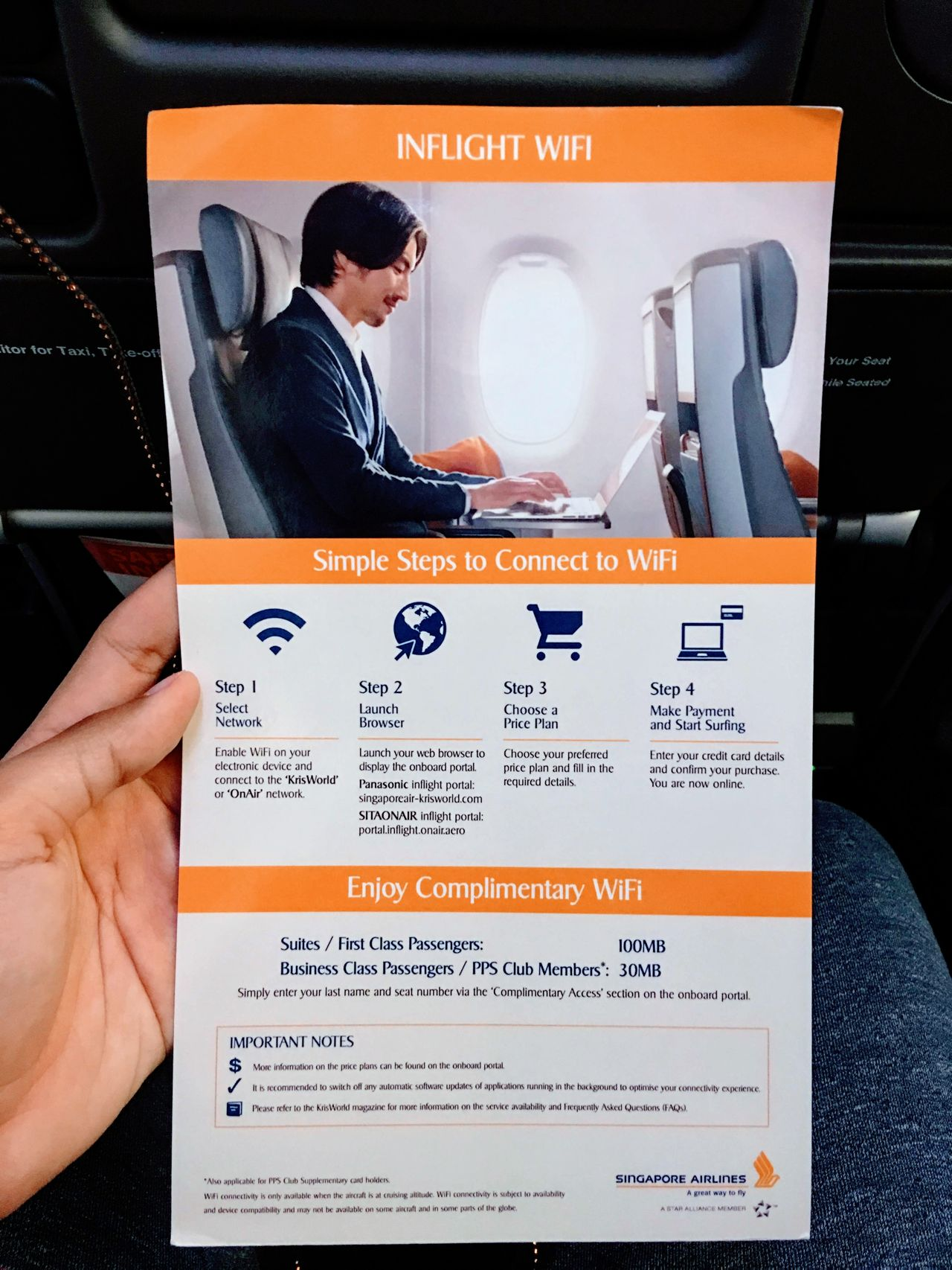 Review of Singapore Airlines flight from Osaka to Singapore