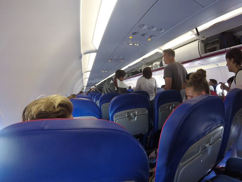 Review Of Wizz Air Flight From London To Budapest In Economy