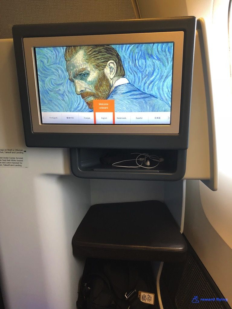 photo klm835 seat monitor