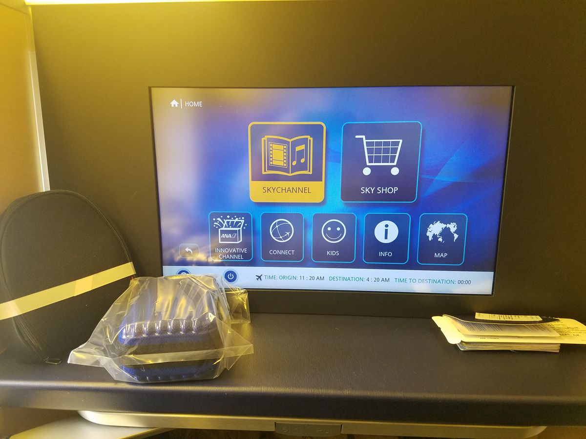 Review of ANA flight from Los Angeles to Tokyo in First