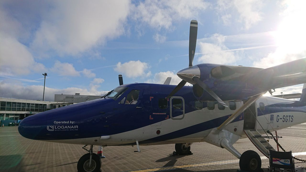 photo glasgow twin otter