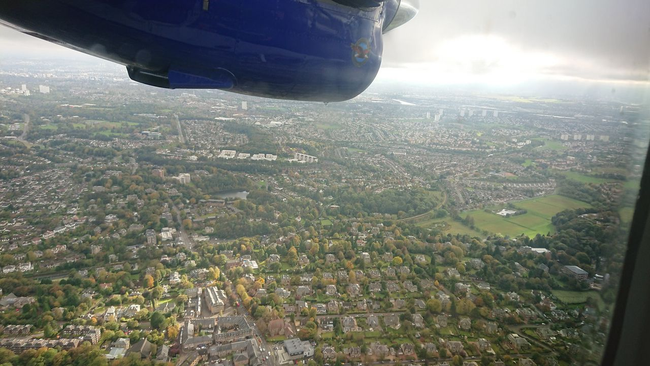 photo over glasgow