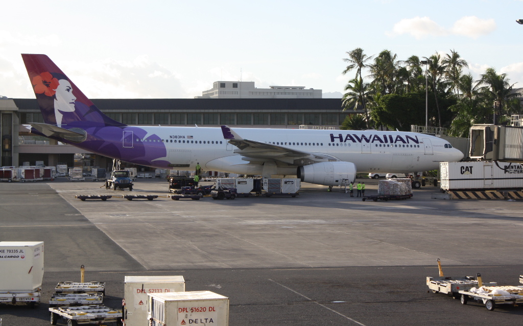 review of hawaiian airlines flight from honolulu to kailua in first. Black Bedroom Furniture Sets. Home Design Ideas