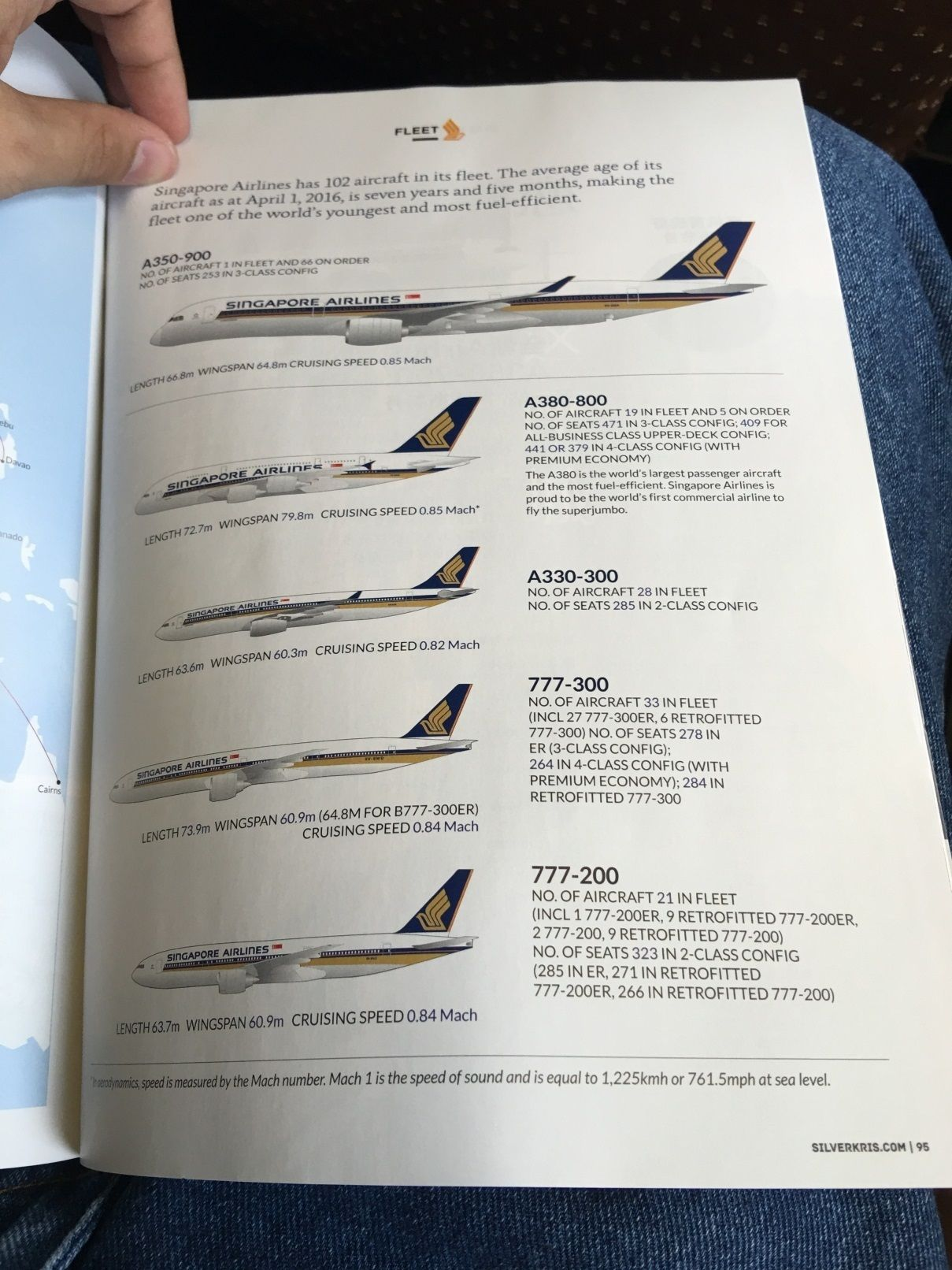 Review of Singapore Airlines flight from Jakarta to Singapore in Economy