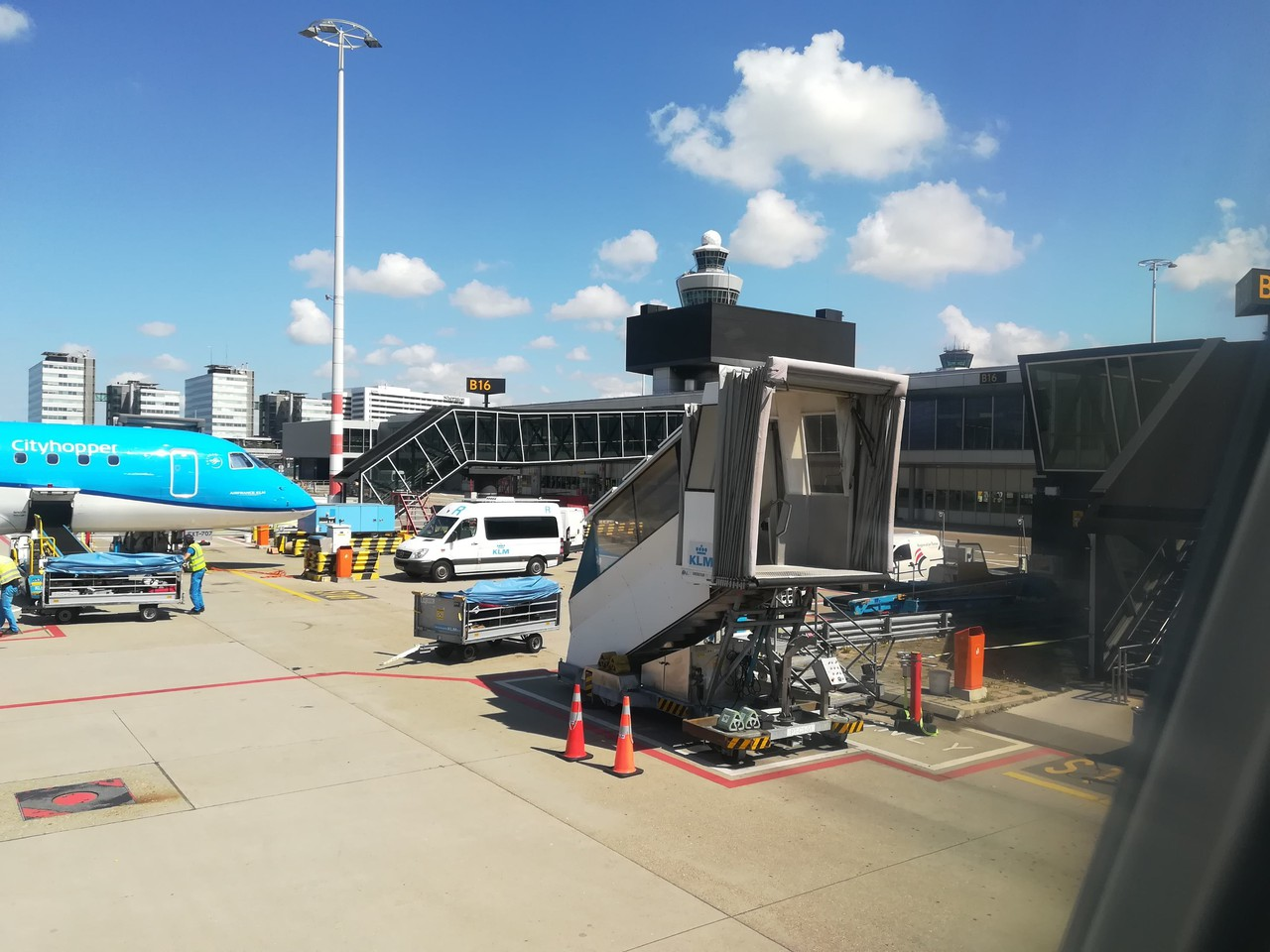 Review of KLM flight from Amsterdam to Venice in Business