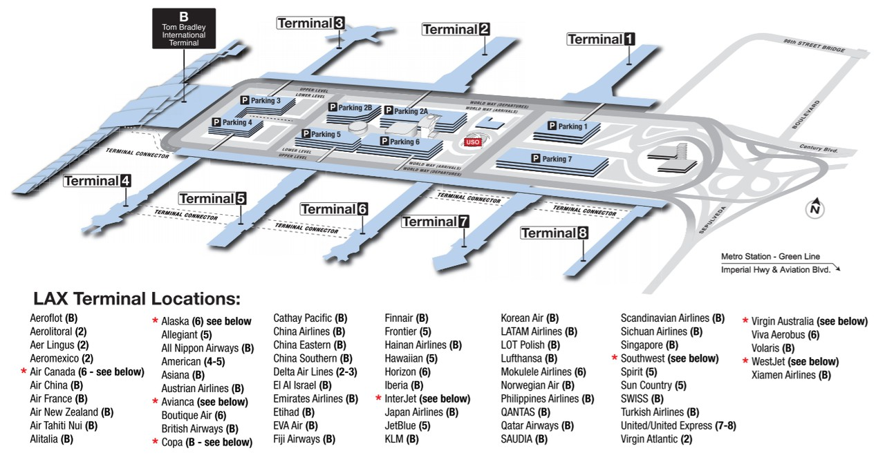photo lax-terminal-map