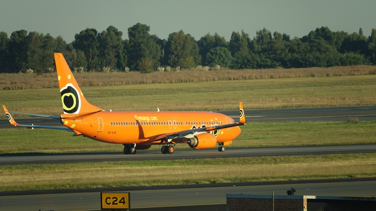 Review of Mango flight from Johannesburg to Cape Town in ...