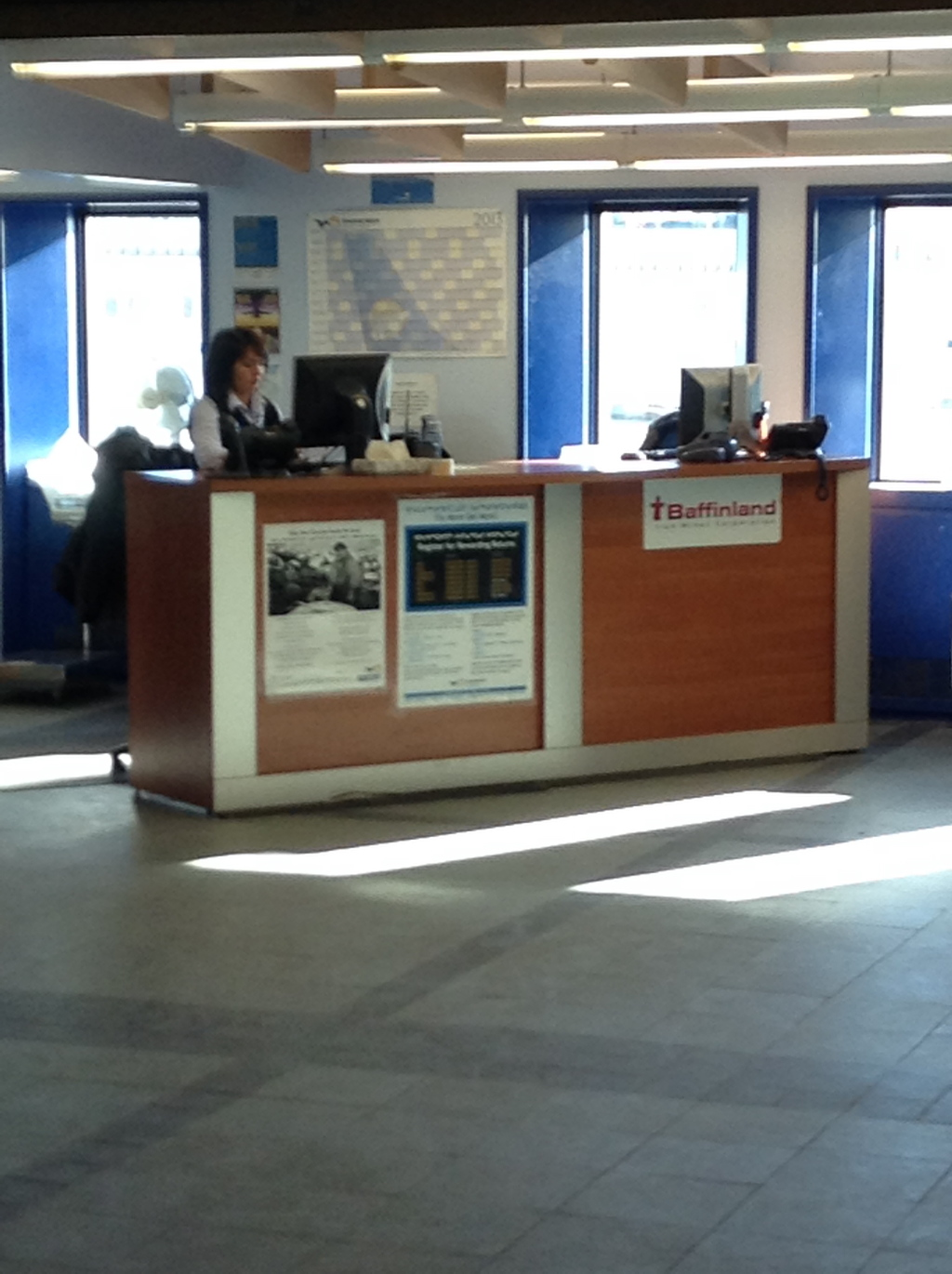 photo Check in counter - regional flights