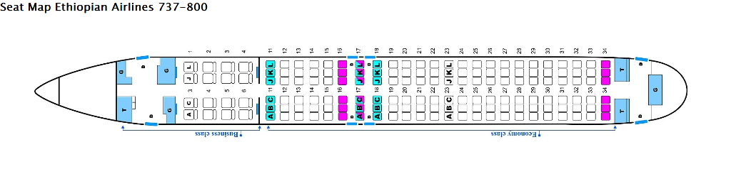 photo Seat Map 738 ETH