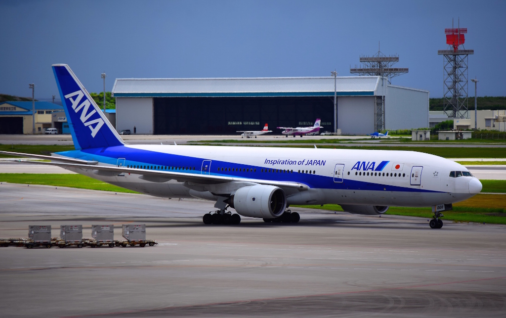 review of ana flight from naha to nagasaki in economy