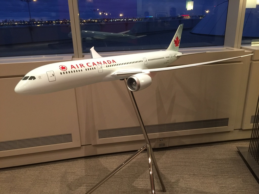 Review of Air Canada flight from Toronto to Vancouver in ...