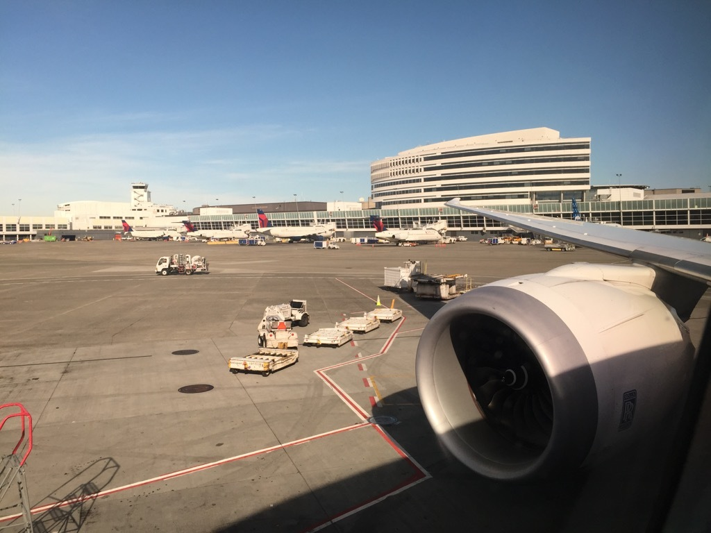 Review of ANA flight from Seattle to Tokyo in Business