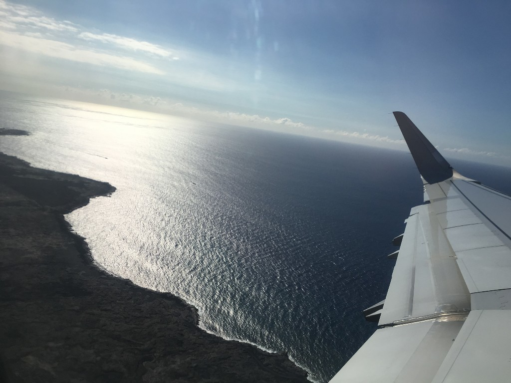 Review Of American Airlines Flight From Kailua To Los