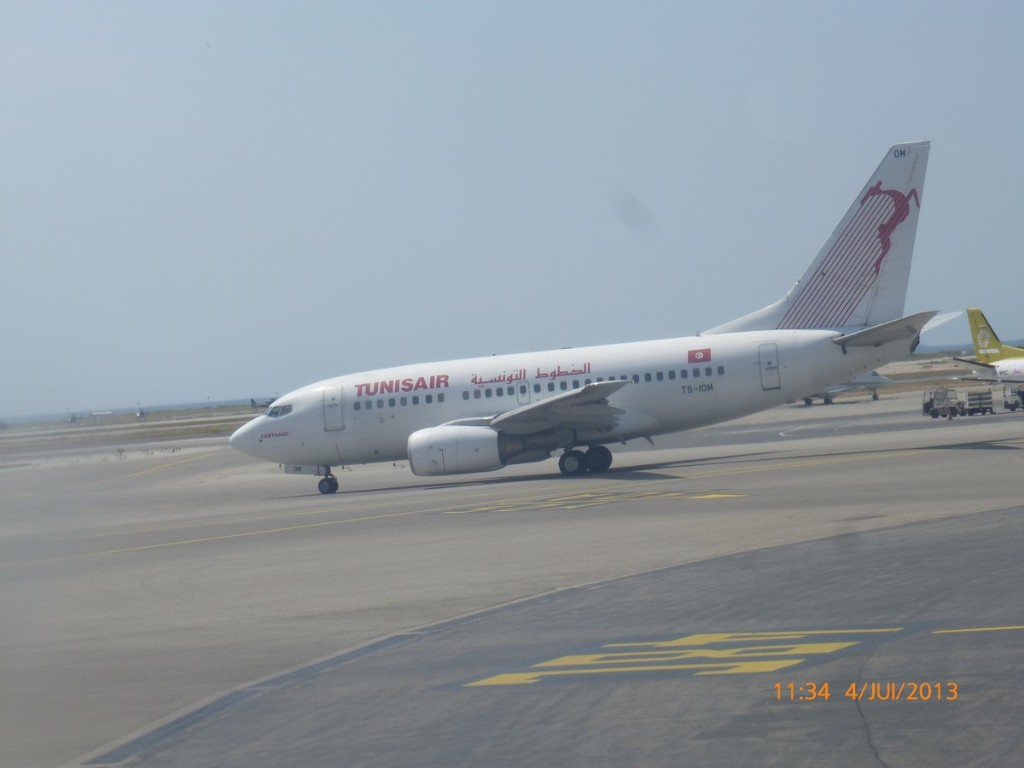 photo B737-300 Tunisair (Copier)