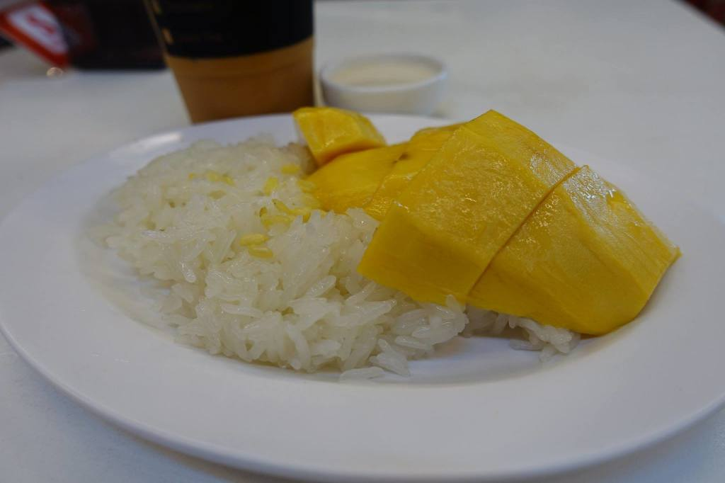 photo 0940b DSC08167 Mango Sticky Rice and Iced Tea