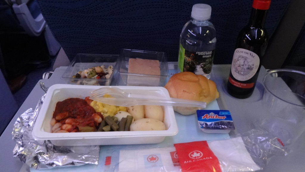 Best meal option air canada