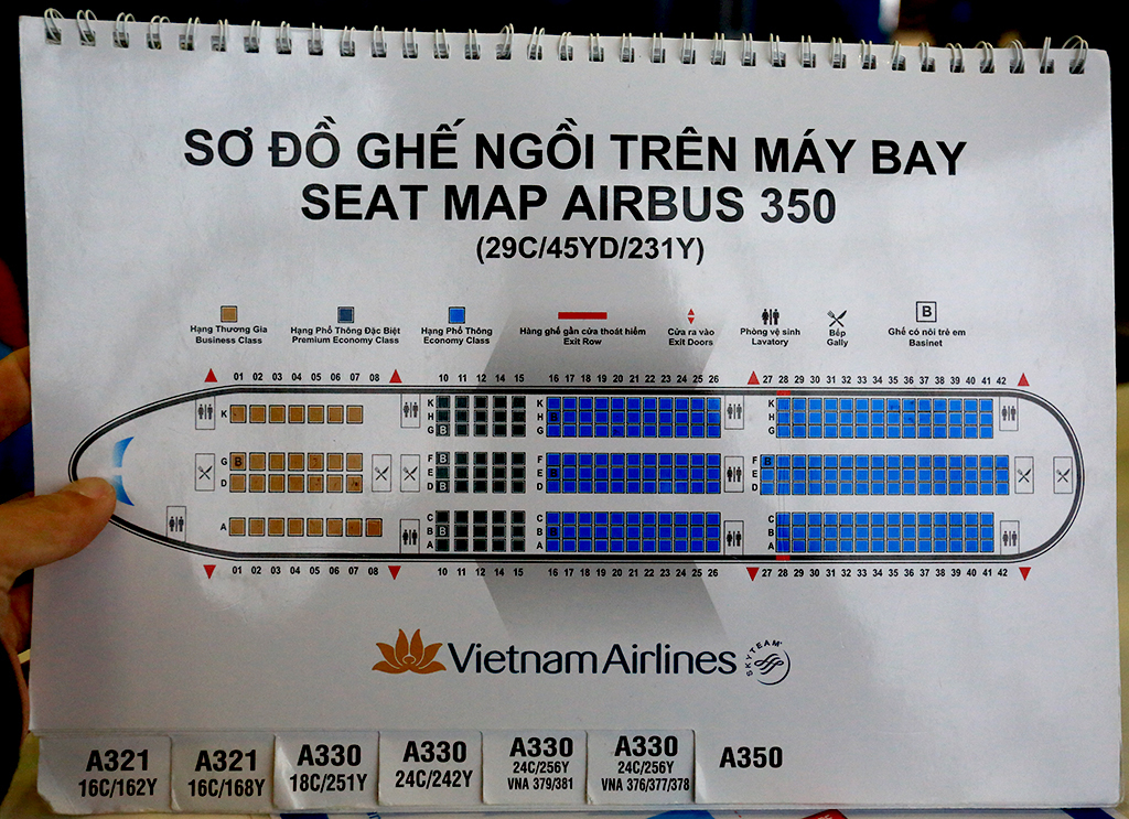 Review Of Vietnam Airlines Flight From Hanoi To Seoul In