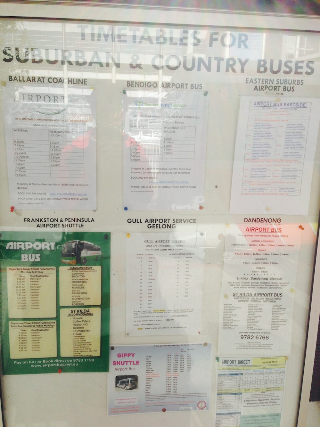 photo 005 Timetables for Buses