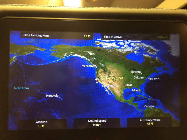 Review of Singapore Airlines flight from San Francisco to Hong Kong ...