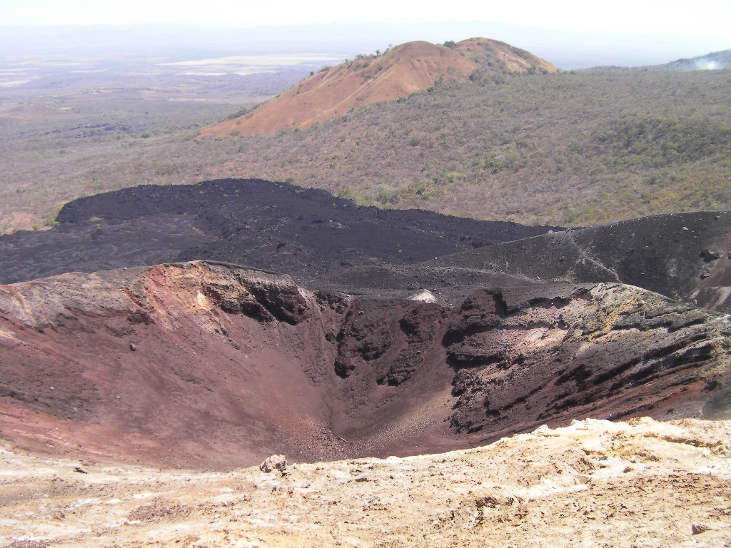 photo cerro negro cratere