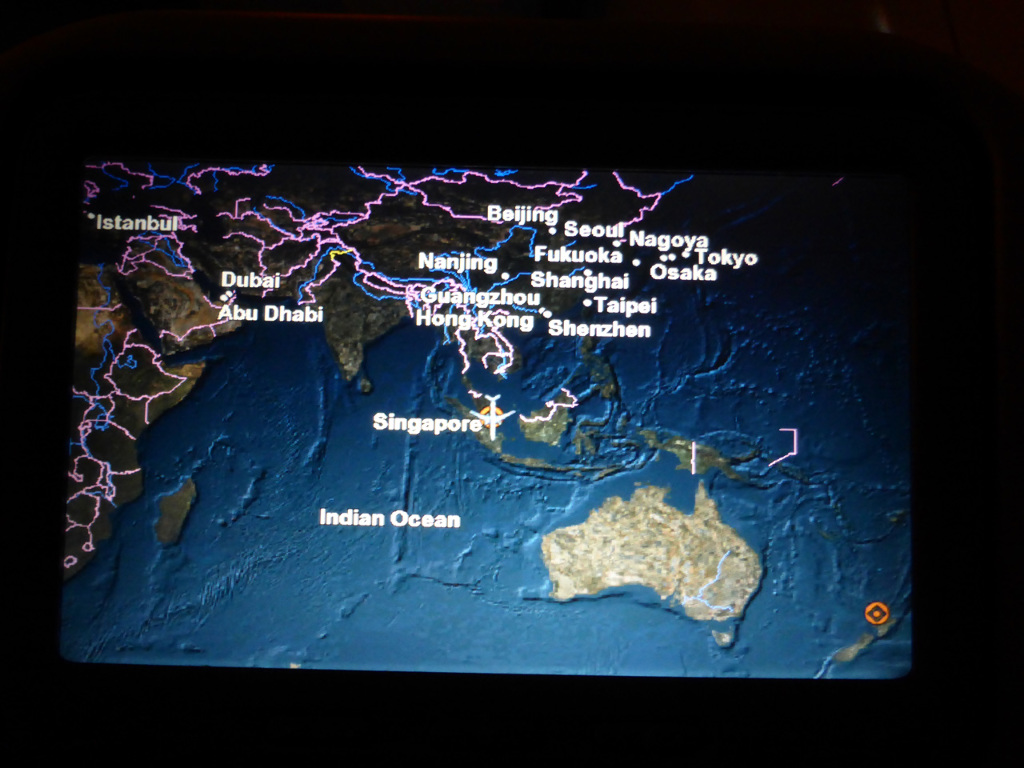 Review of Singapore Airlines flight from Singapore to Auckland in ...