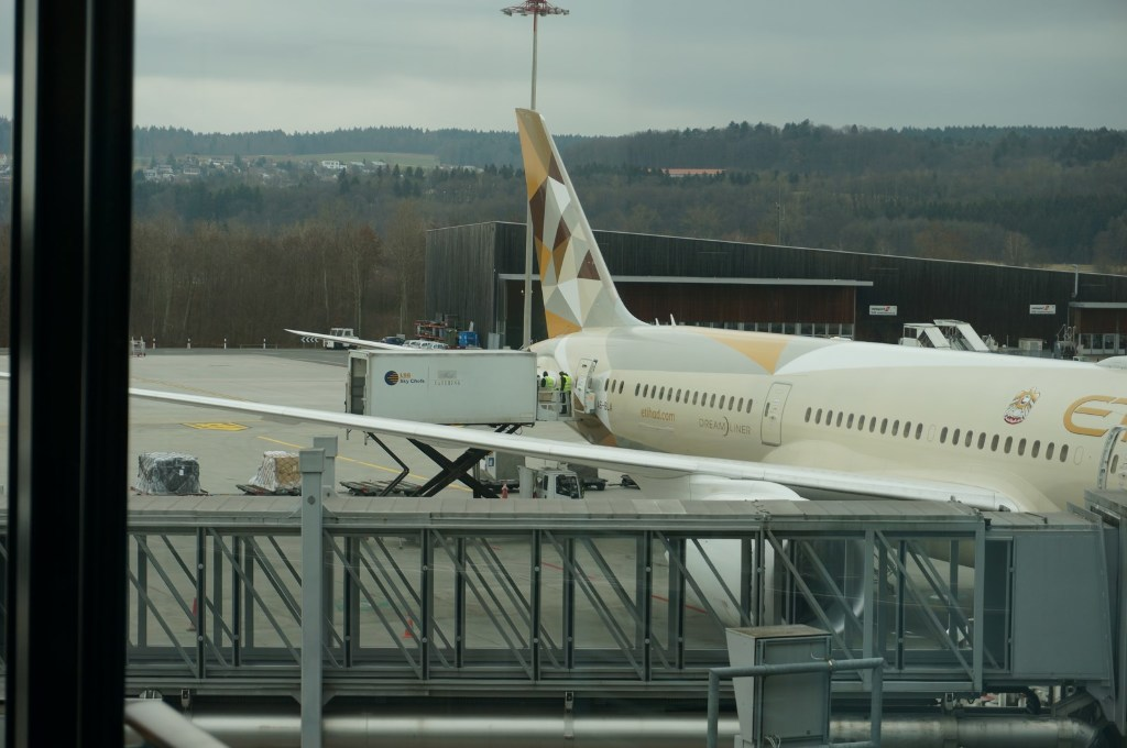 Review of Singapore Airlines flight from Zurich to Singapore in Business