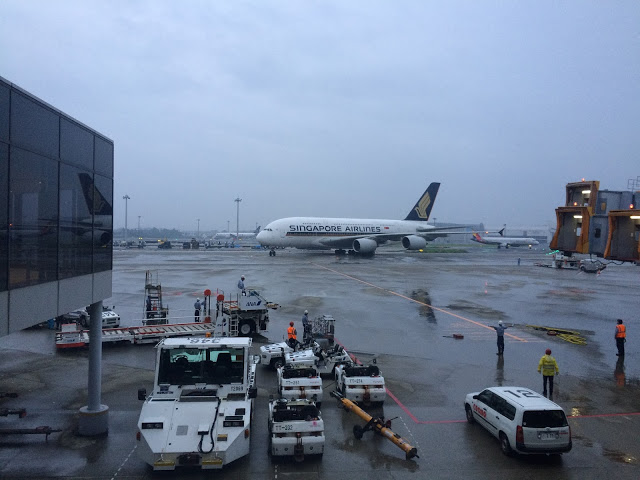Review of Singapore Airlines flight from Tokyo to Los Angeles in Economy