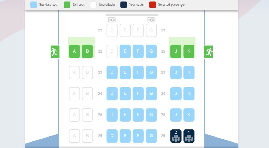 photo BA SIN-SYD Seatmap